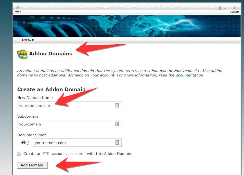 CPanel Hosting Addon for WordPress