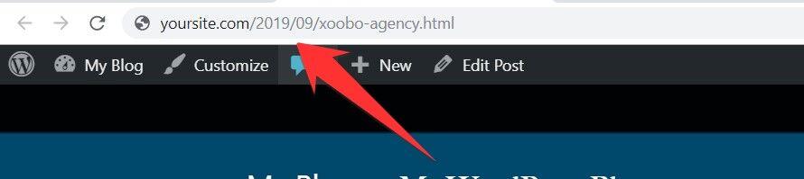 Permalink WordPress Changed