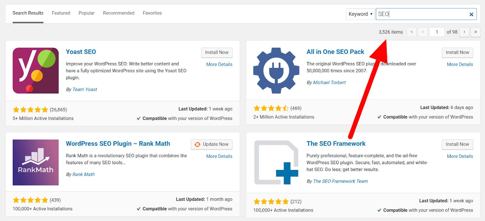 SEO Plugins on WordPress