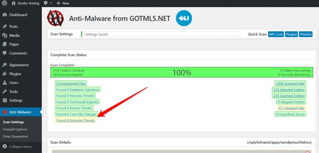 Anti-Malware Security and Brute-Force Firewall WordPress Plugin