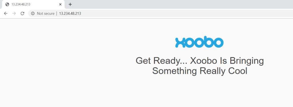 Xoobo Coming Soon Page